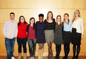 Psychology Senior Project Presenters, Fall 2012