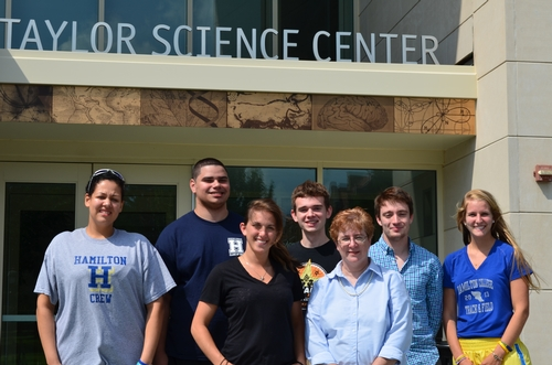 Brewer Group: Laura Rivera, Edwin Marrero, Hannah Jaiven, Peter Campbell, Prof. Brewer, Andrew Szatkowski, Catherine Oglevee
