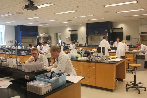 Chemistry - Teaching Lab Spaces - Hamilton College